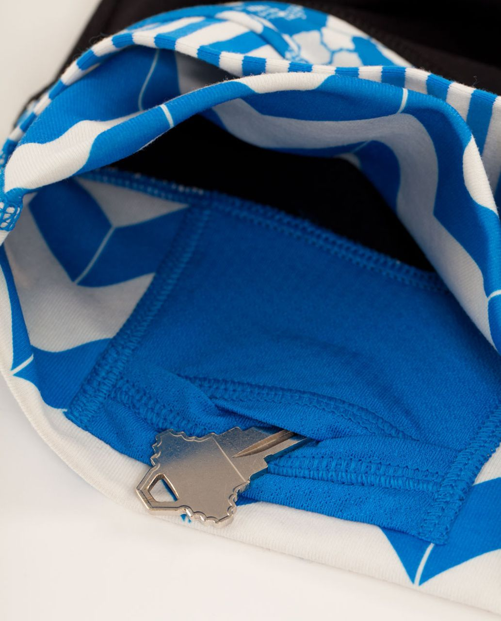 Lululemon Astro Pant (Regular) - Black / Arrow Chevron Polar Cream Beaming Blue / Classic Stripe Polar Cream Beaming Blue