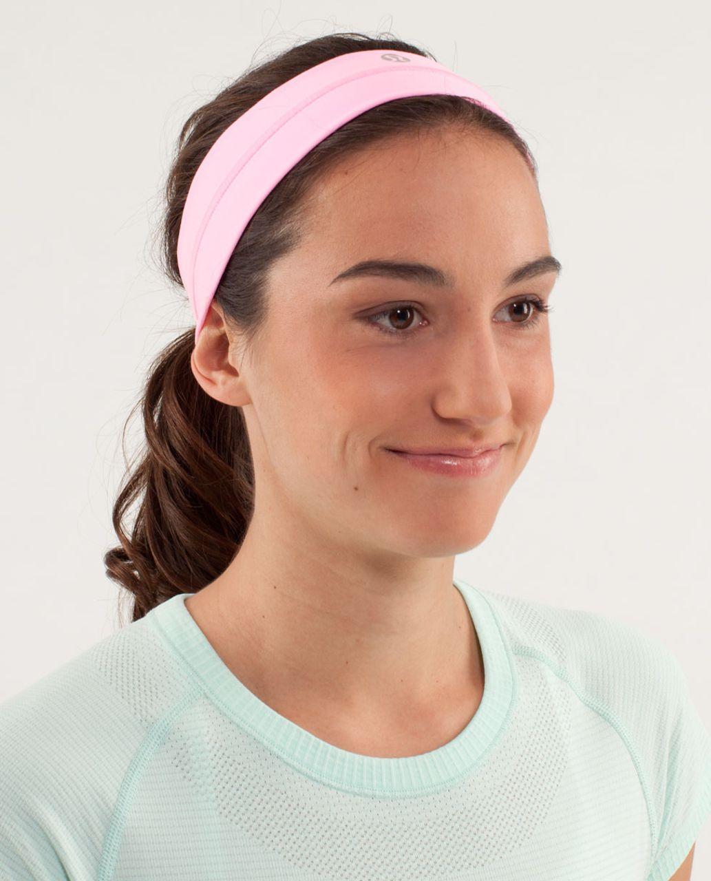 Lululemon Fly Away Tamer Headband - Pink Shell