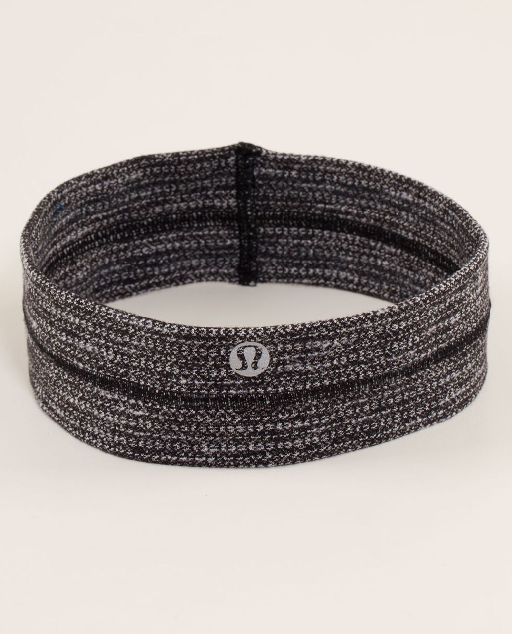 Lululemon Fly Away Tamer Headband *Pique - Black
