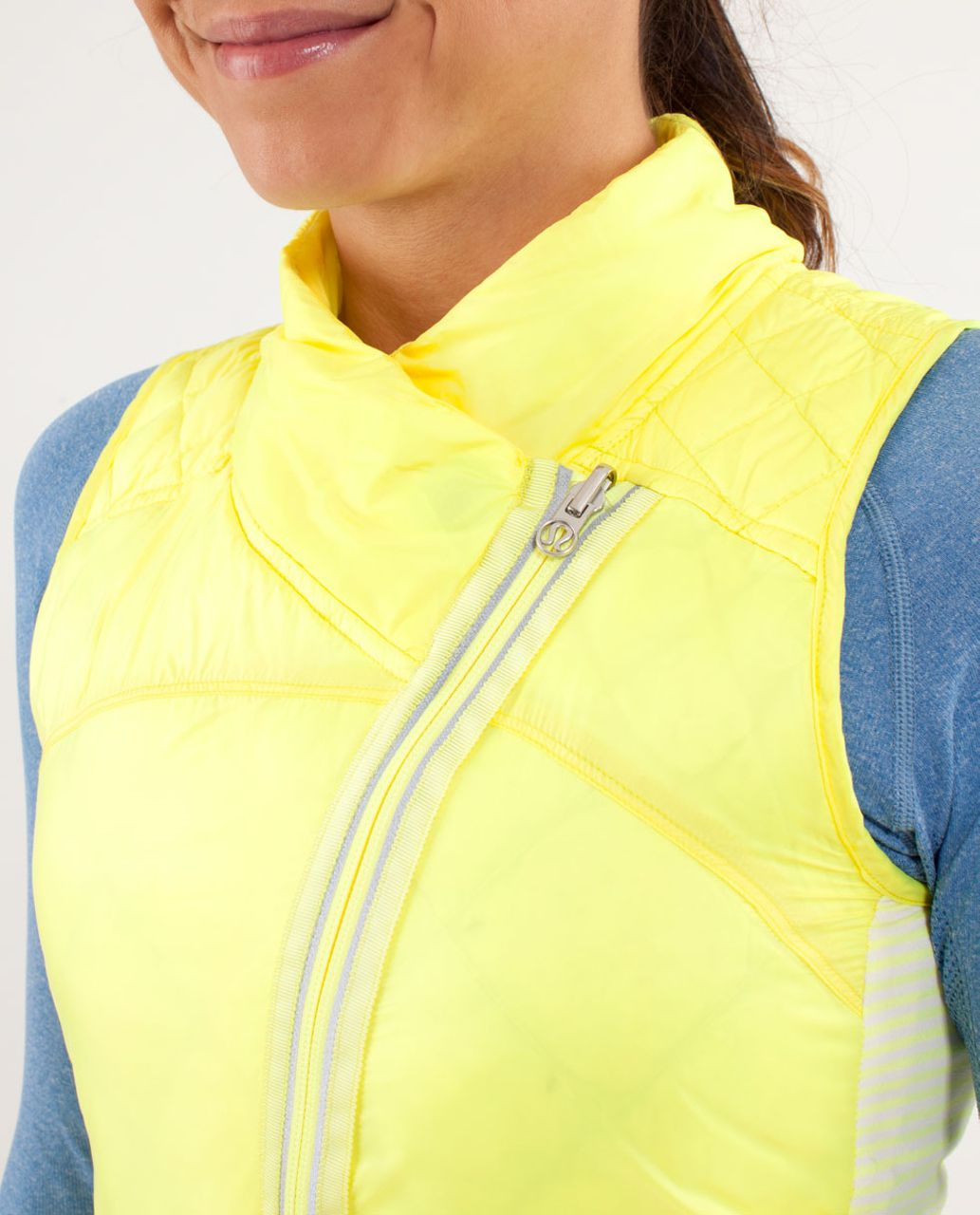Lululemon What The Fluff Vest - Clarity Yellow