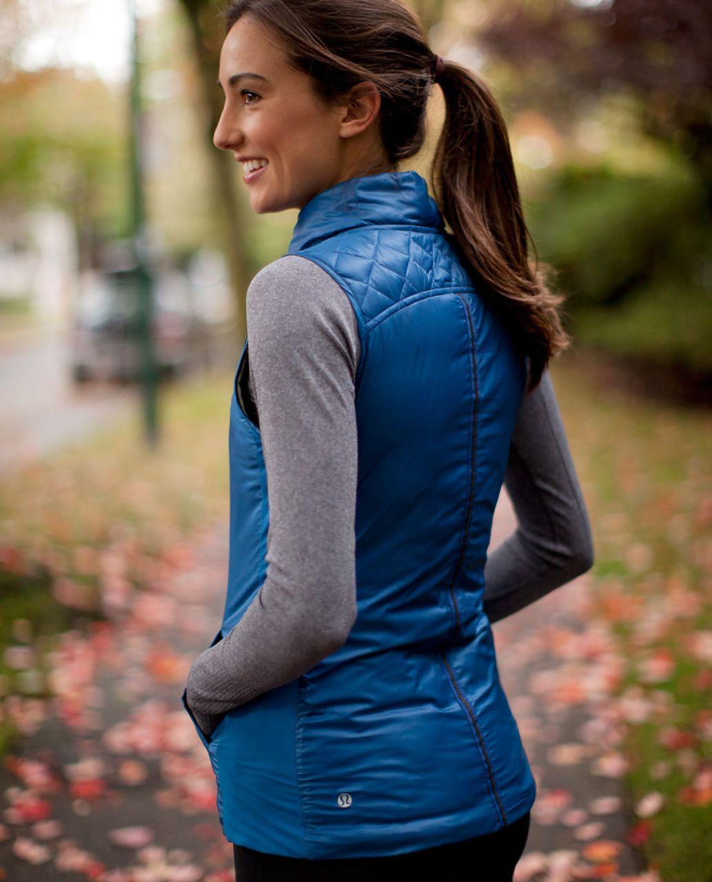 Lululemon What The Fluff Vest - Limitless Blue