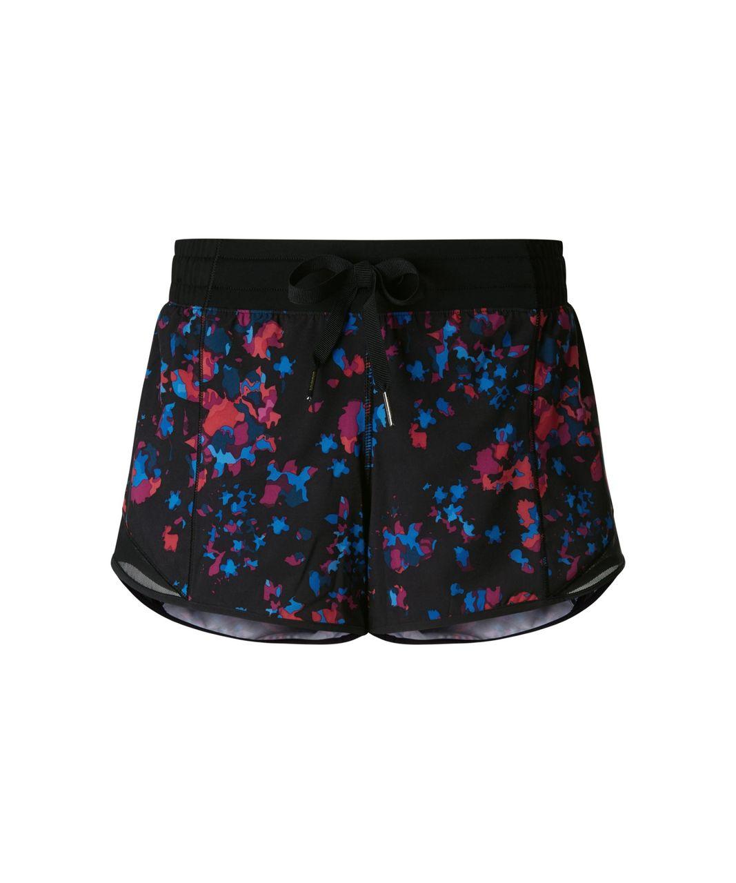 Lululemon Hotty Hot Short - Dandy Digie Multi / Black