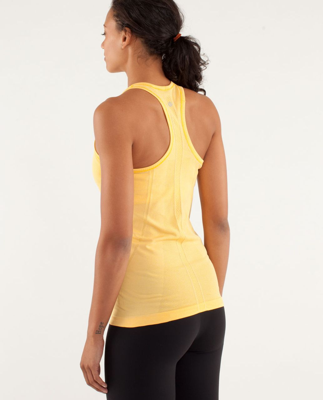 Lululemon Run:  Swiftly Tech Racerback - Burning Yellow