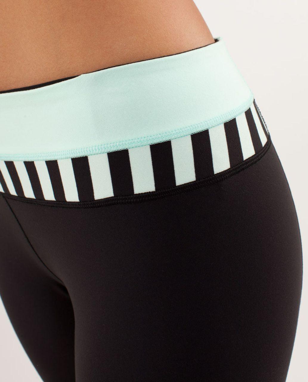 Lululemon Groove Pant *New (Tall) - Black / Mint Moment / Sea Stripe Mint Moment Black