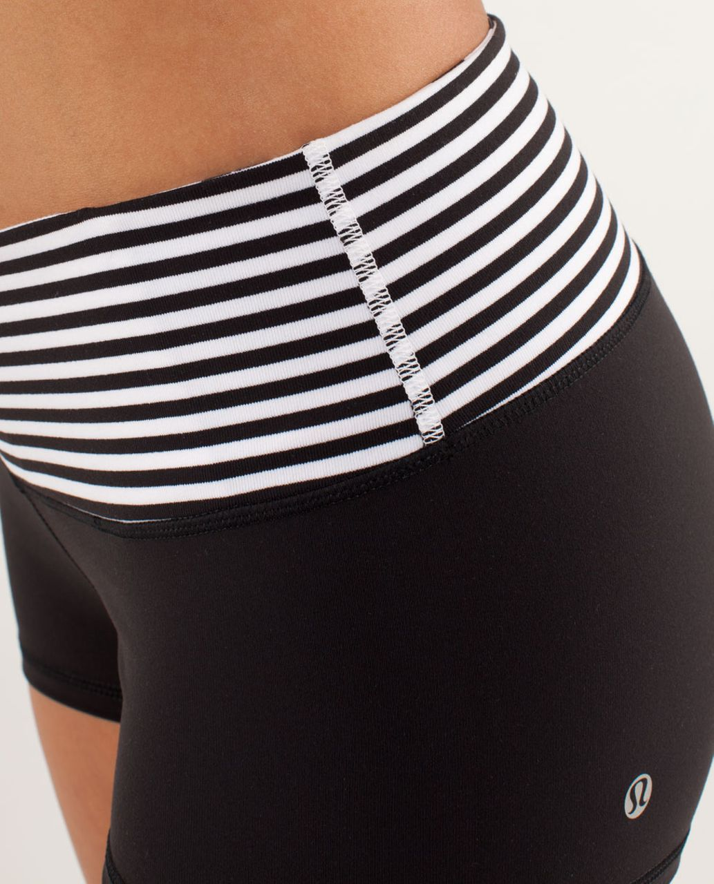 Lululemon Boogie Short - Black / Arrow Chevron White Black / Classic Stripe Black White / Black