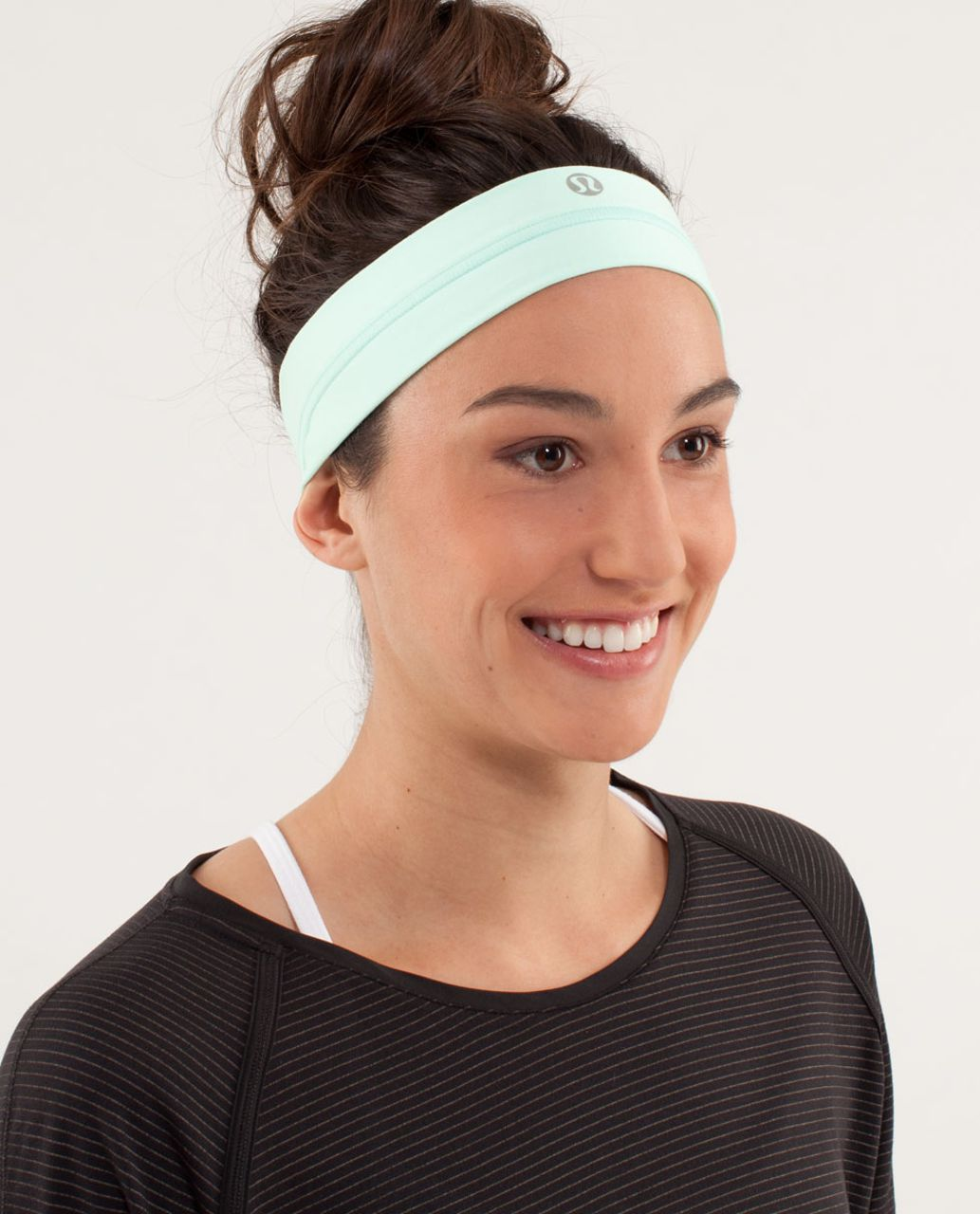 Lululemon Fly Away Tamer Headband - Mint Moment - lulu fanatics 01c16aba0bd
