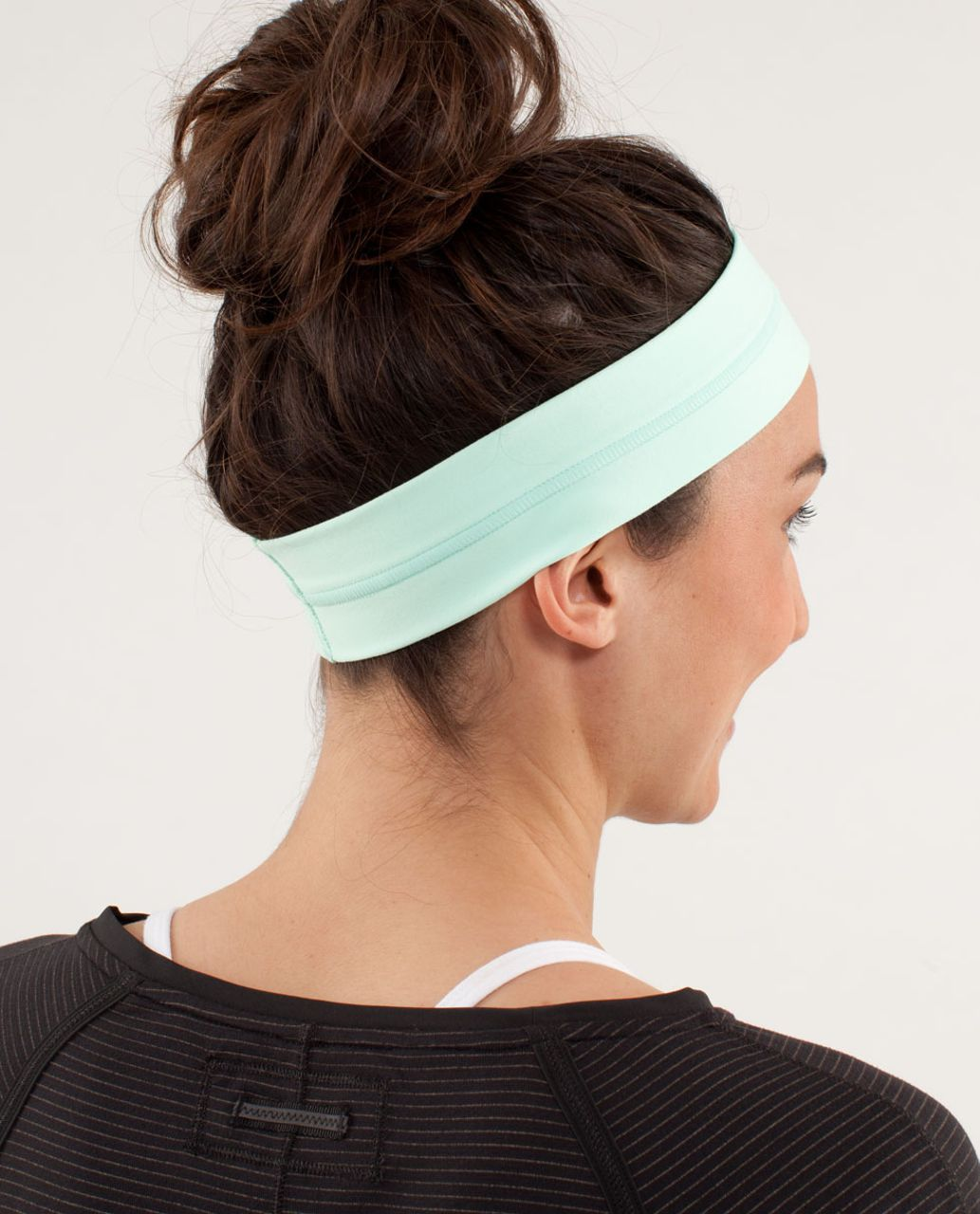 Lululemon Fly Away Tamer Headband - Mint Moment