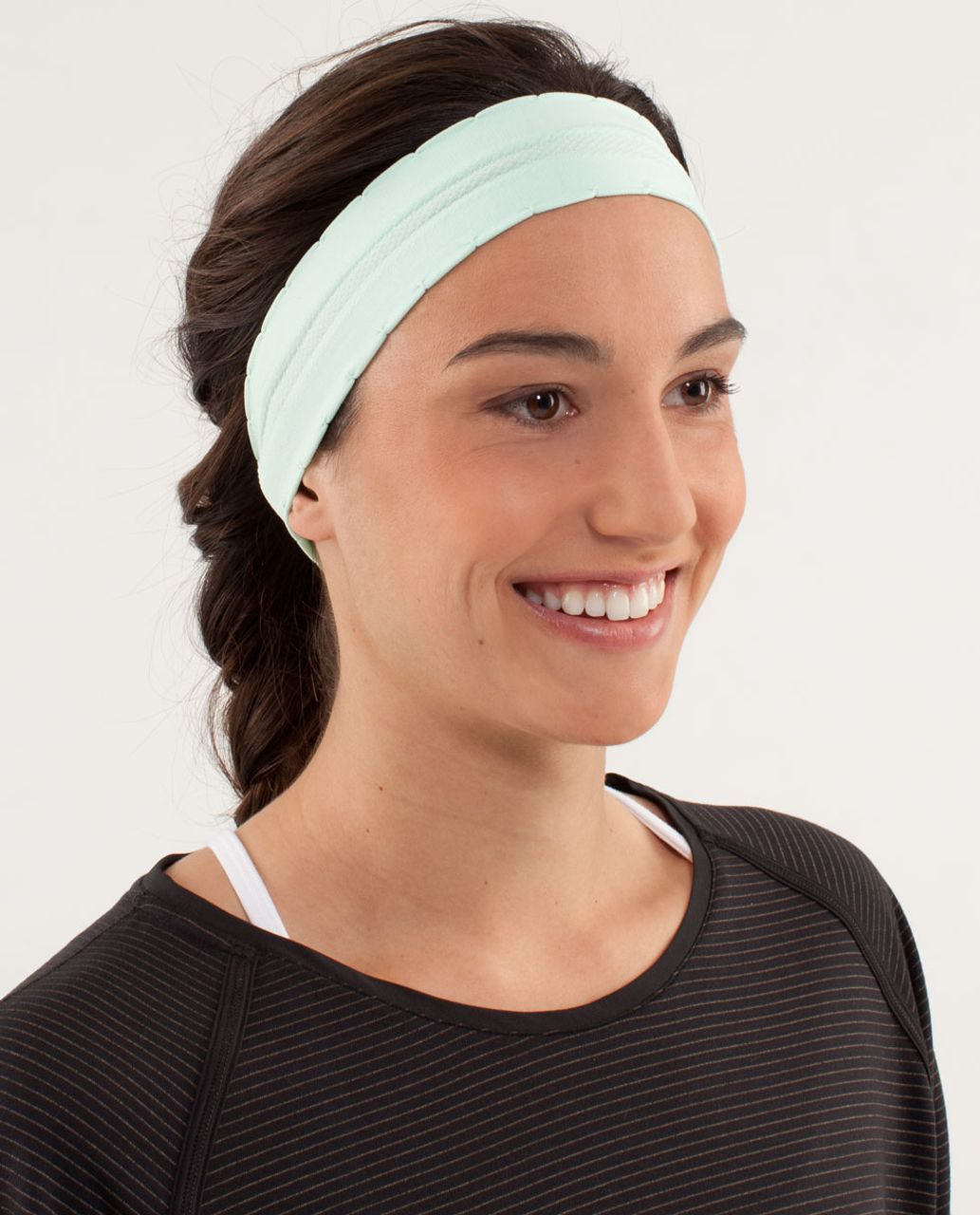 Lululemon Swiftly Headband - Mint Moment - lulu fanatics 2010e46908c