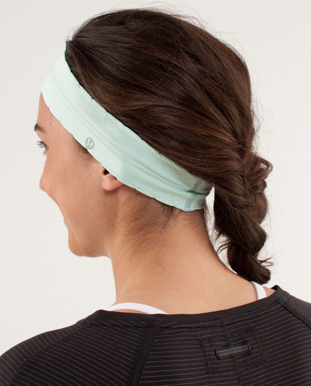 Lululemon Swiftly Headband - Mint Moment