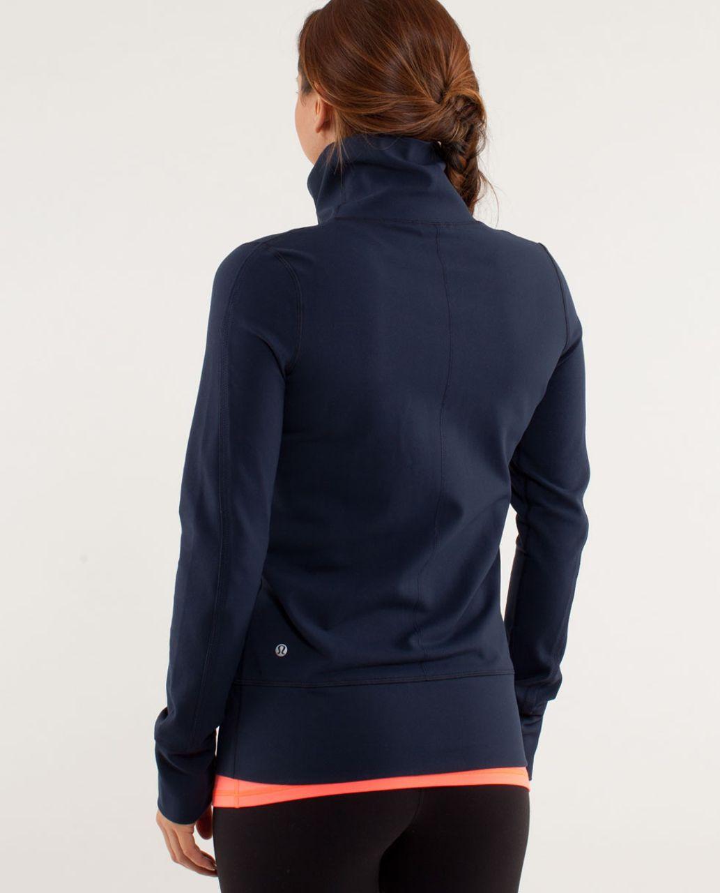 d6dd19b6ff Lululemon Daily Yoga Jacket - Inkwell - lulu fanatics