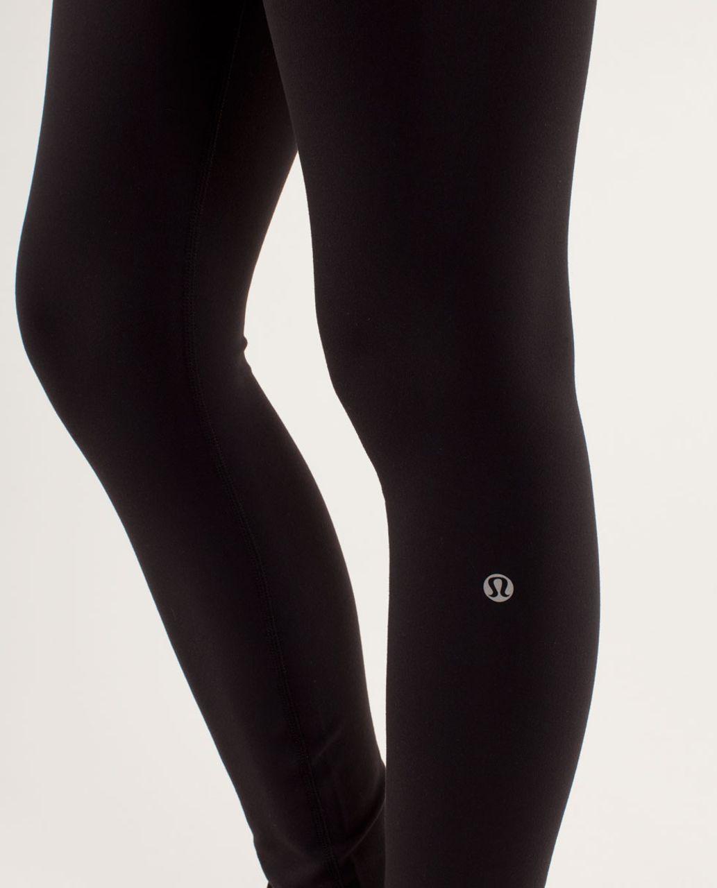 Lululemon Wunder Under Pant - Black / Quilting Winter 15