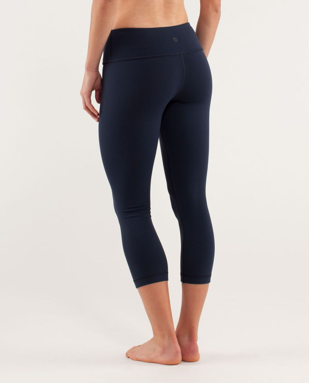Lululemon Wunder Under Crop *Silver - Inkwell