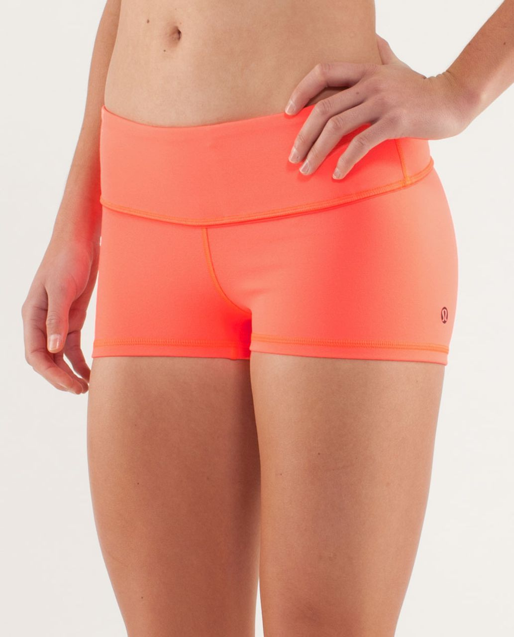 Lululemon Boogie Short *Silver - Light Flare