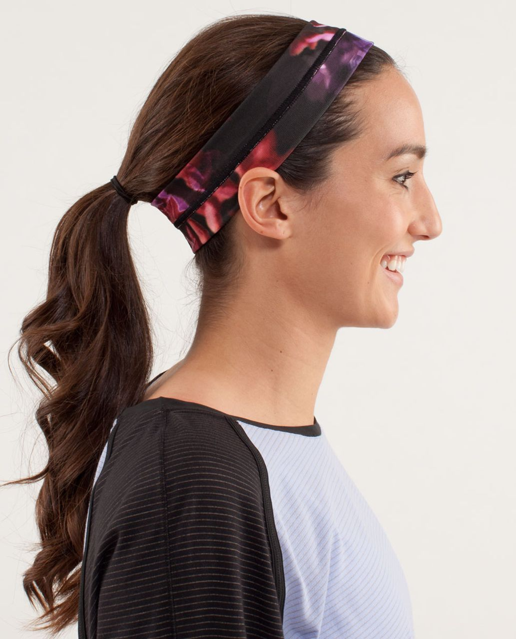 Lululemon Fly Away Tamer Headband - Spring Has Sprung Multi