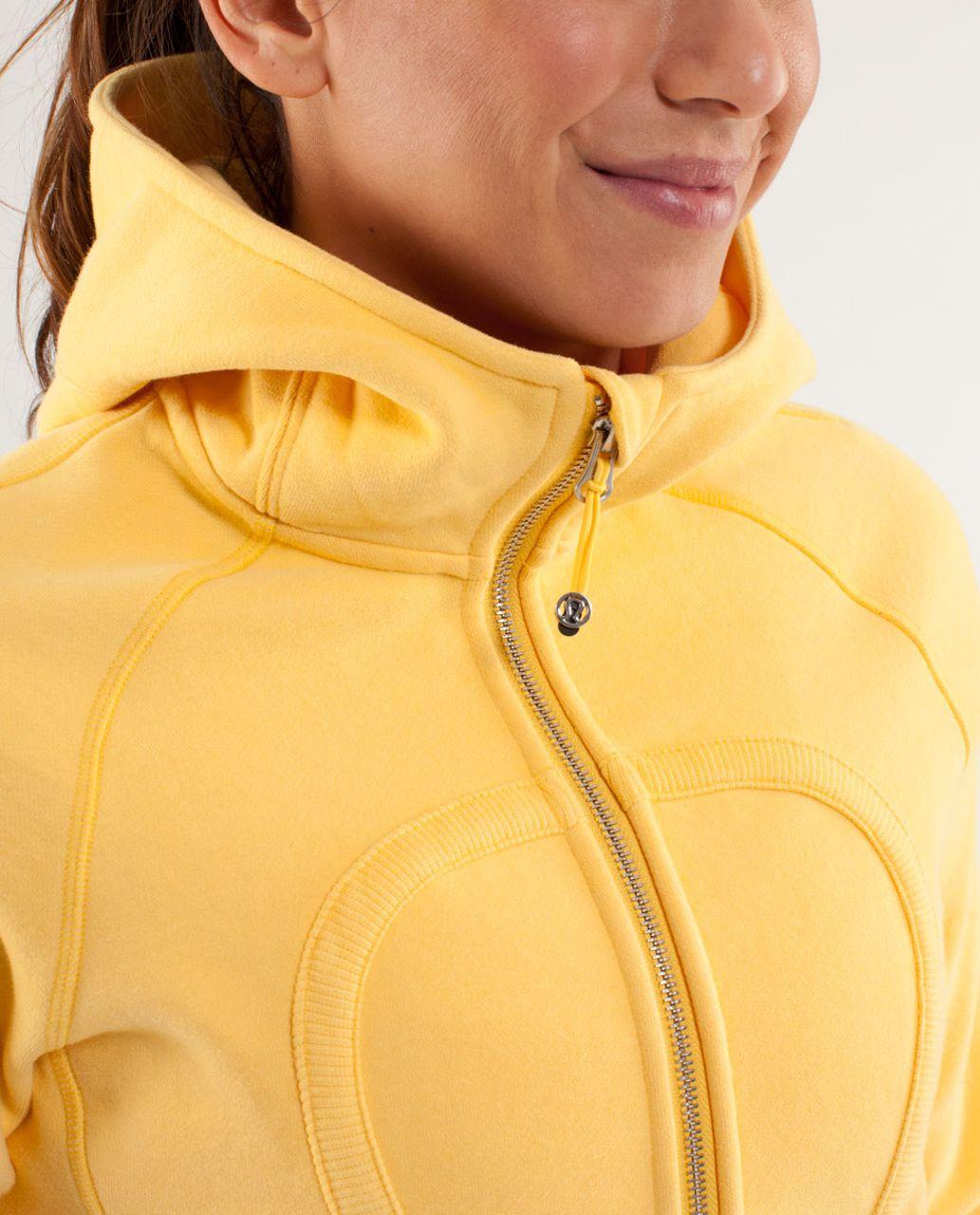 Lululemon Scuba Hoodie *Stretch - Burning Yellow