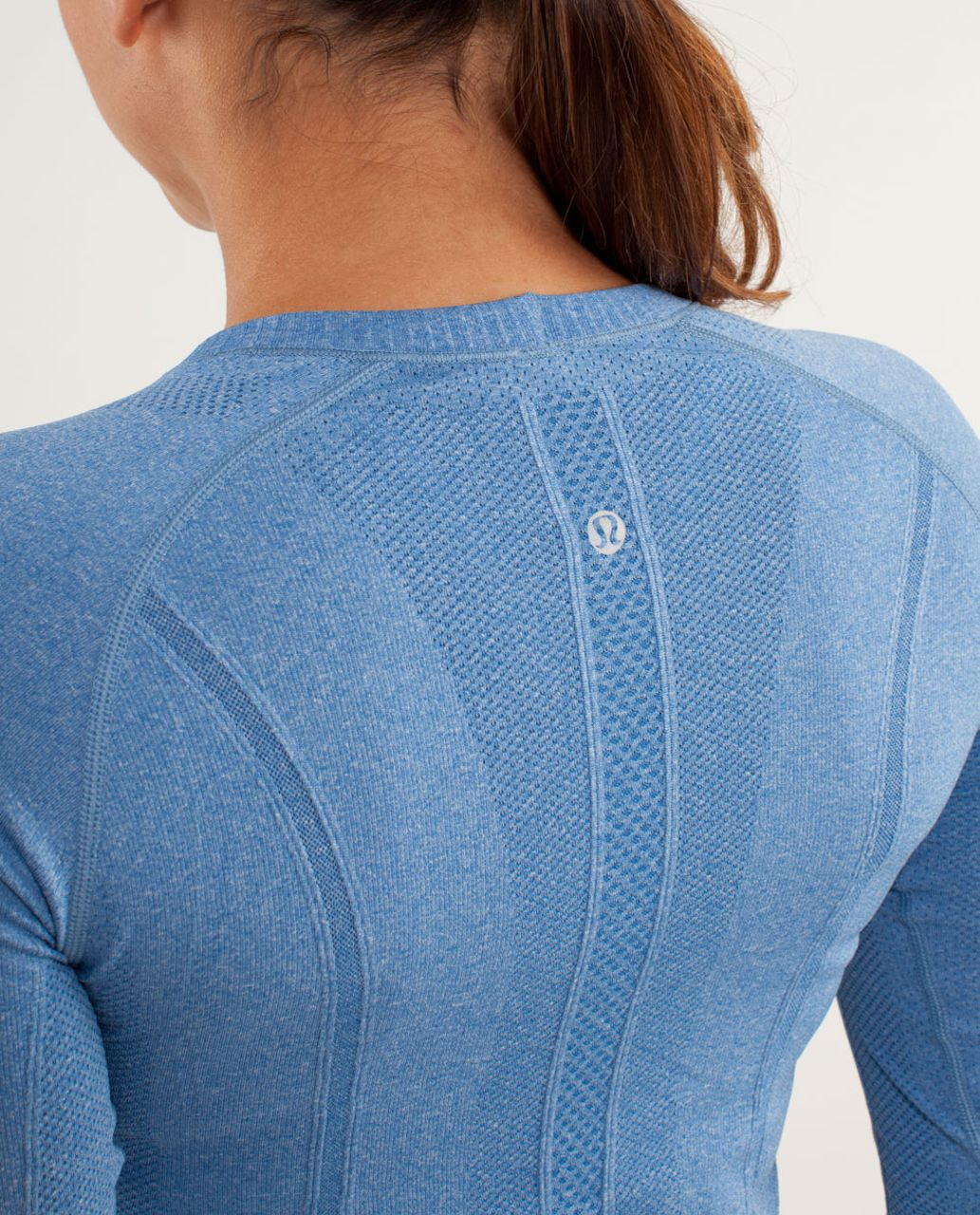 Lululemon Run:  Swiftly Tech Long Sleeve - Limitless Blue