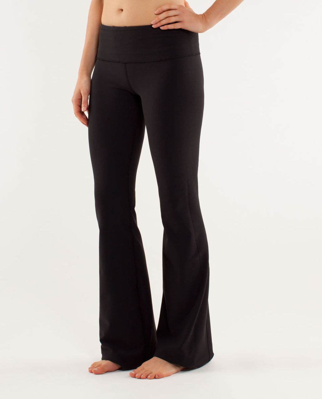 Lululemon Groove Pant *New (Tall) - Black / Quilting Winter 15 / Polar Haze