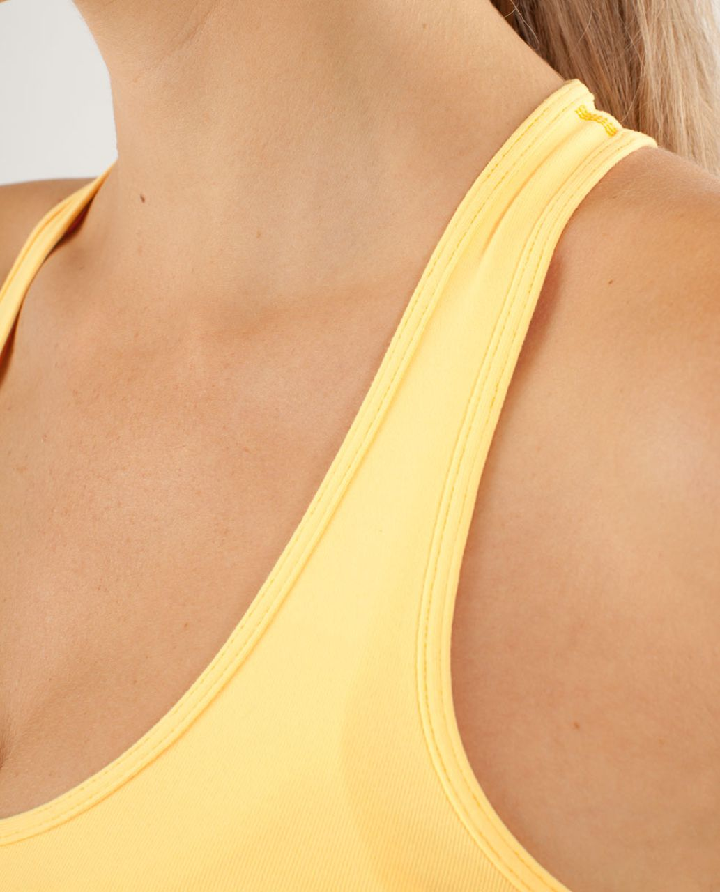 Lululemon Cool Racerback - Burning Yellow