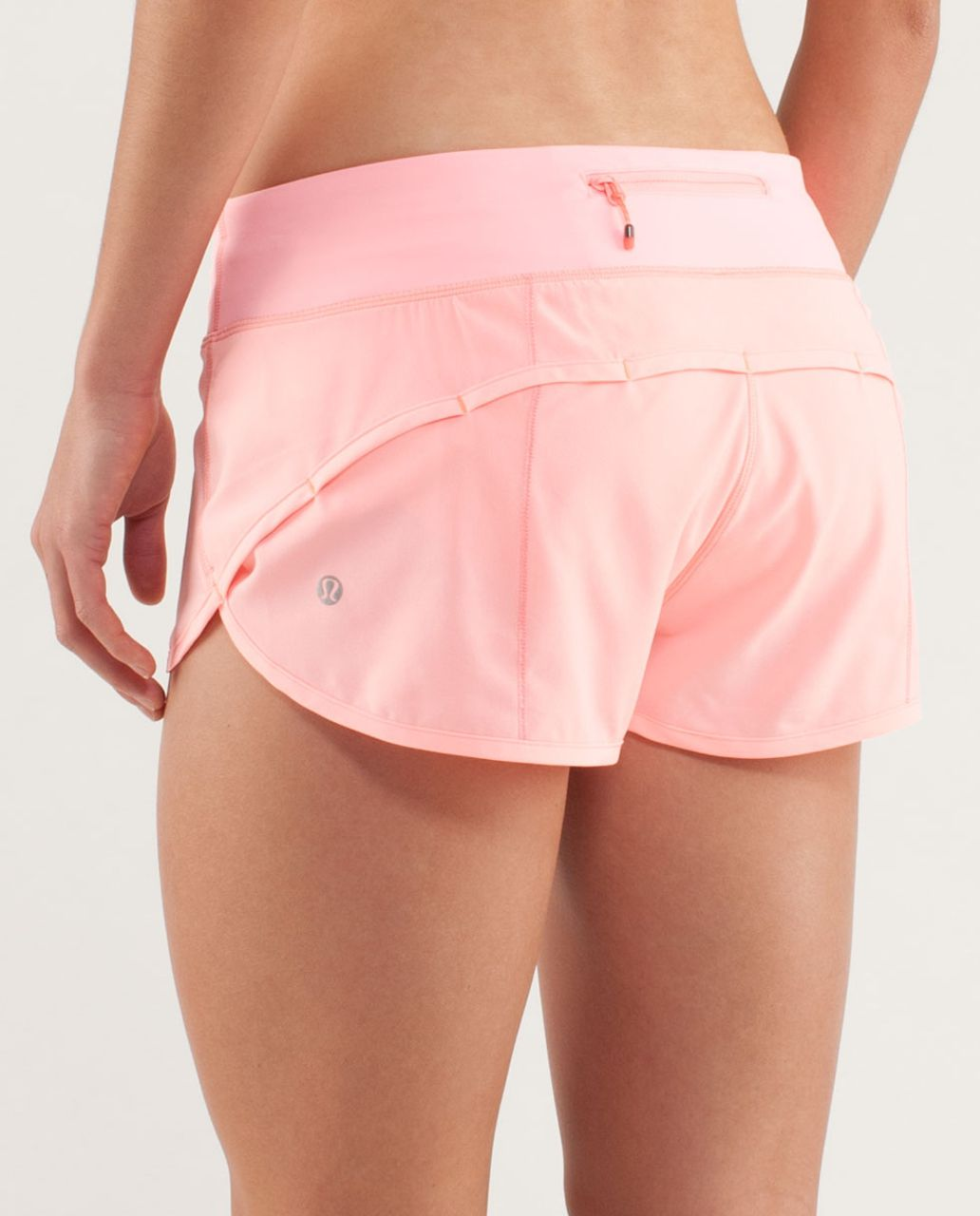 Lululemon Run:  Speed Short - Bleached Coral