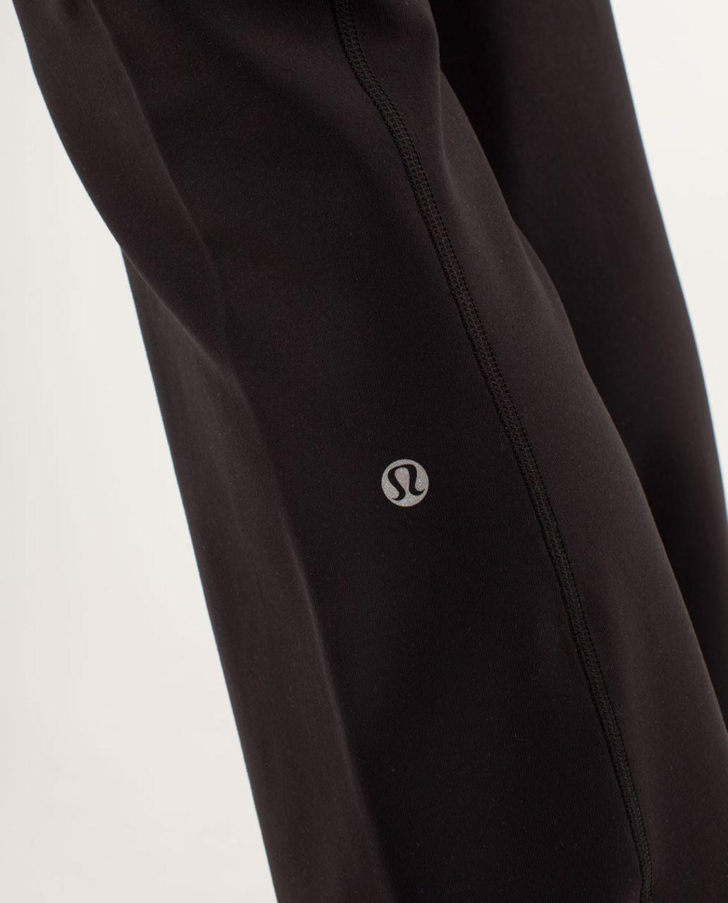 Lululemon Groove Pant *New (Tall) - Black / Quilt Spring13 7