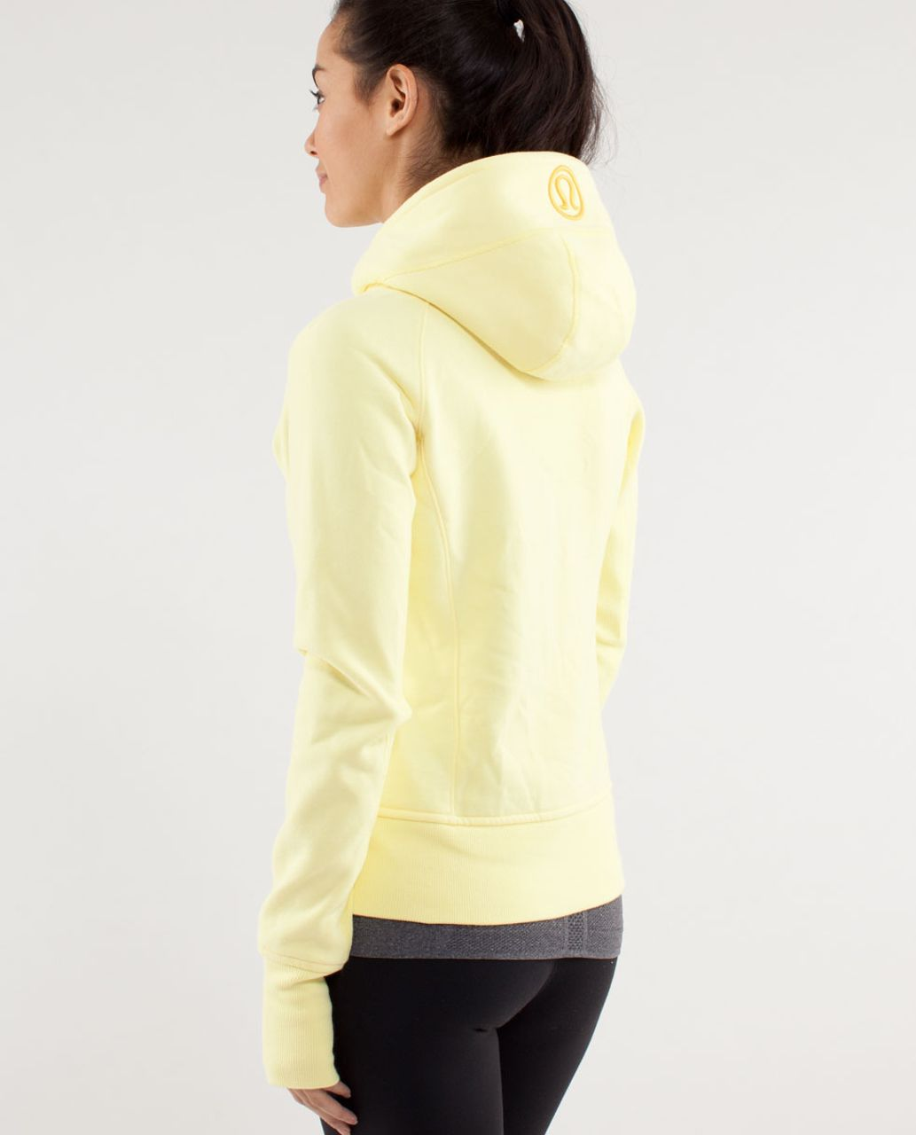 Lululemon Scuba Hoodie *Stretch (Lined Hood) - Mellow Lemon