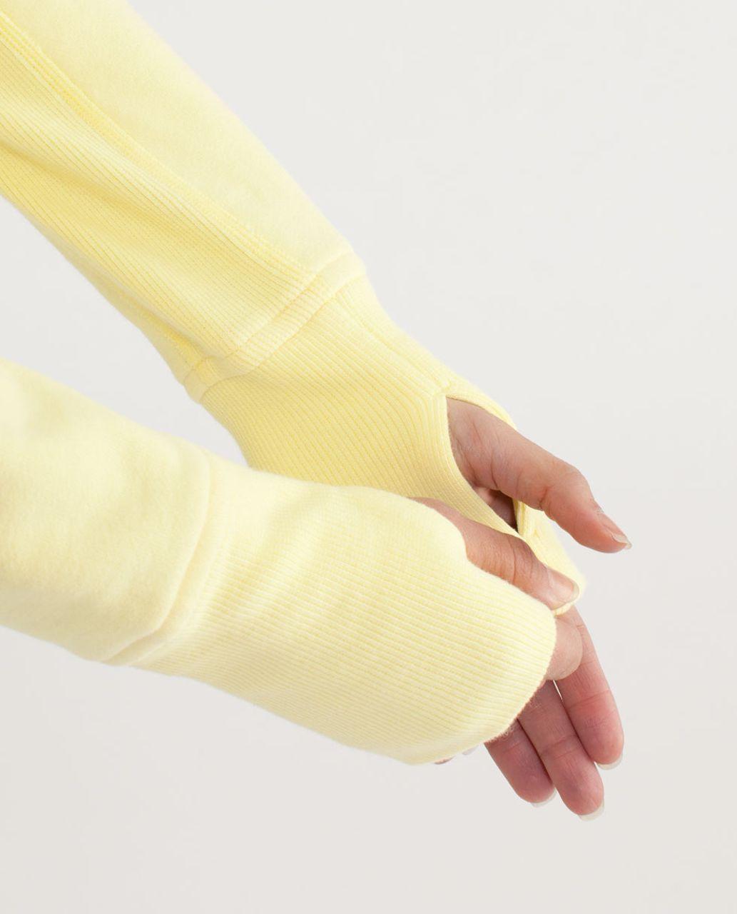 Lululemon Scuba Hoodie *Stretch (Lined Hood) - Mellow Lemon