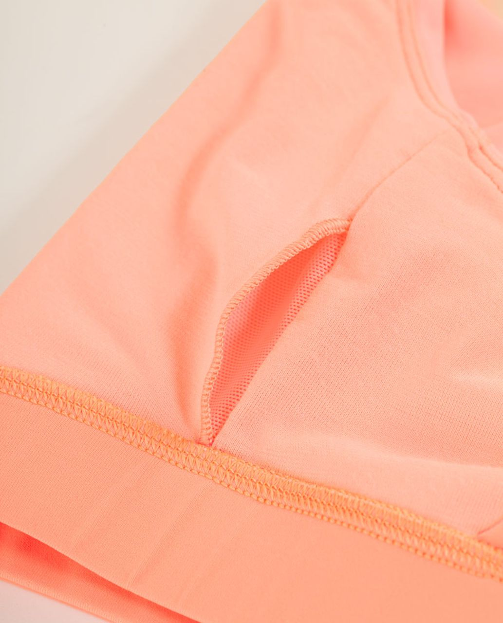 Lululemon Energy Bra - Bleached Coral / Pop Orange