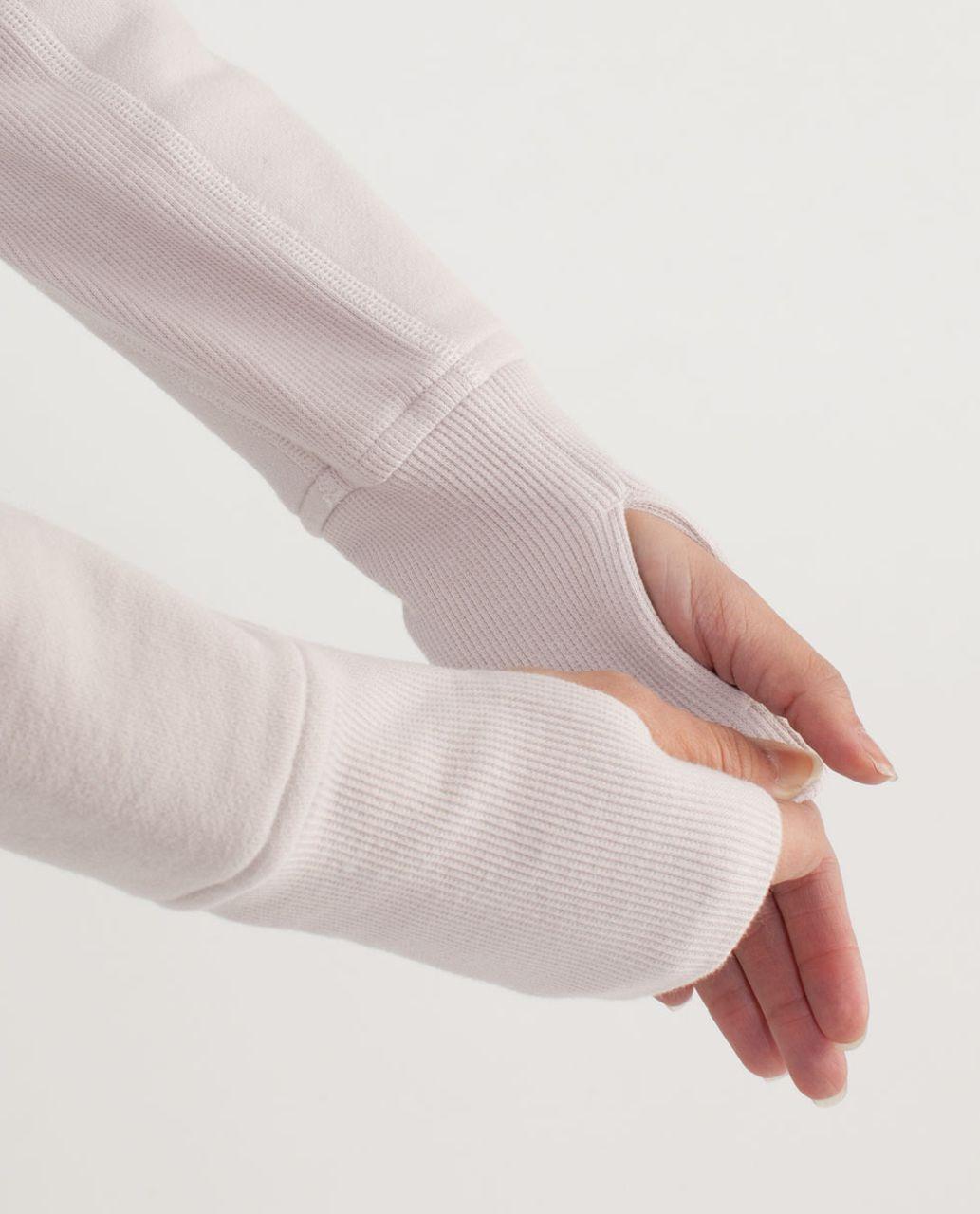 Lululemon Scuba Hoodie *Stretch (Lined Hood) - White / Dune