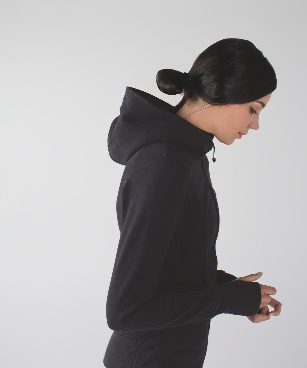 Lululemon Scuba Hoodie *Stretch (Lined Hood) - Black (First Release)