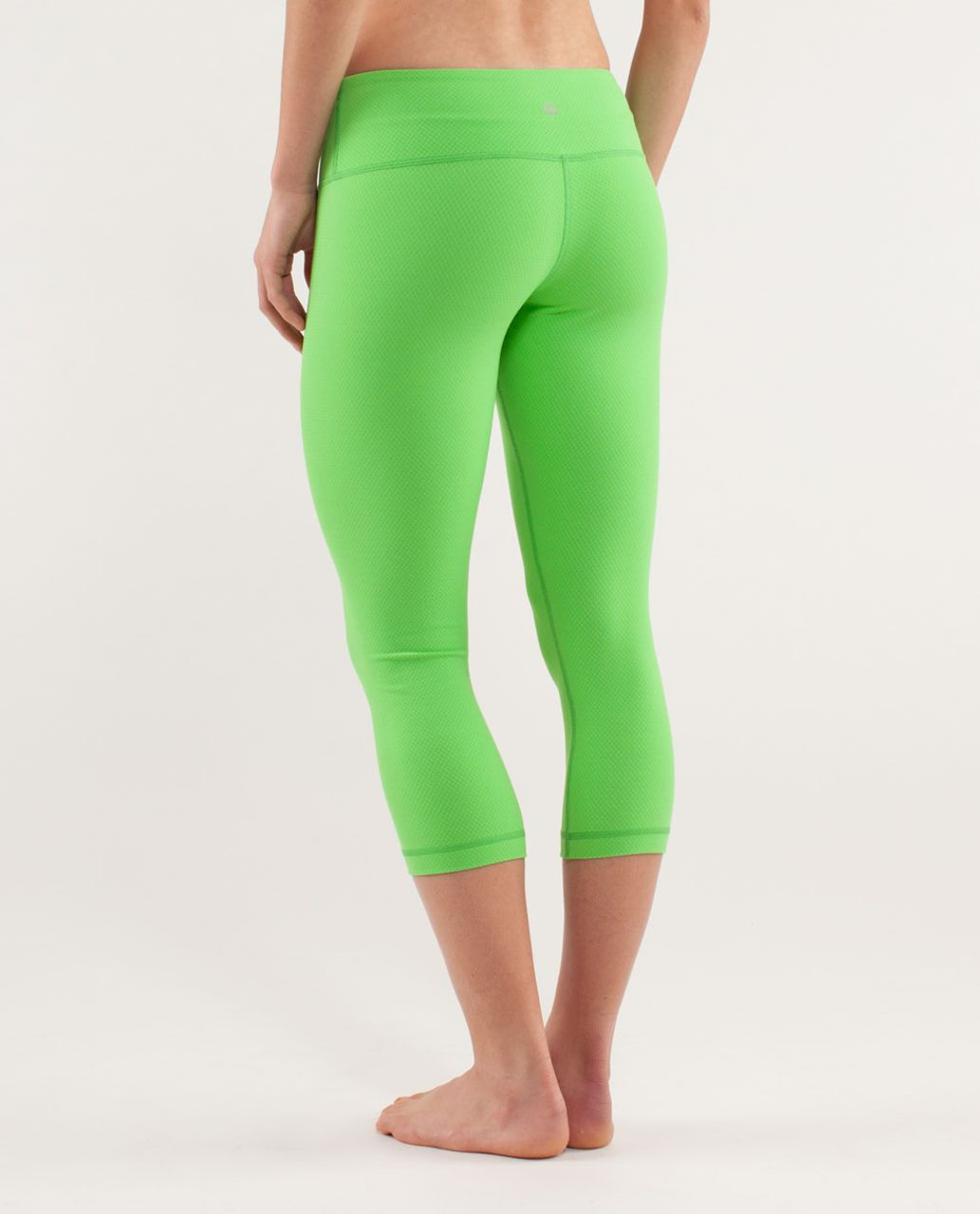 Lululemon Wunder Under Crop - Frond
