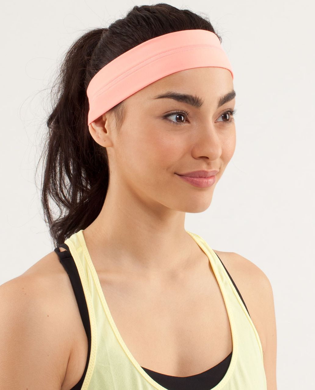 Lululemon Fly Away Tamer Headband - Pop Orange