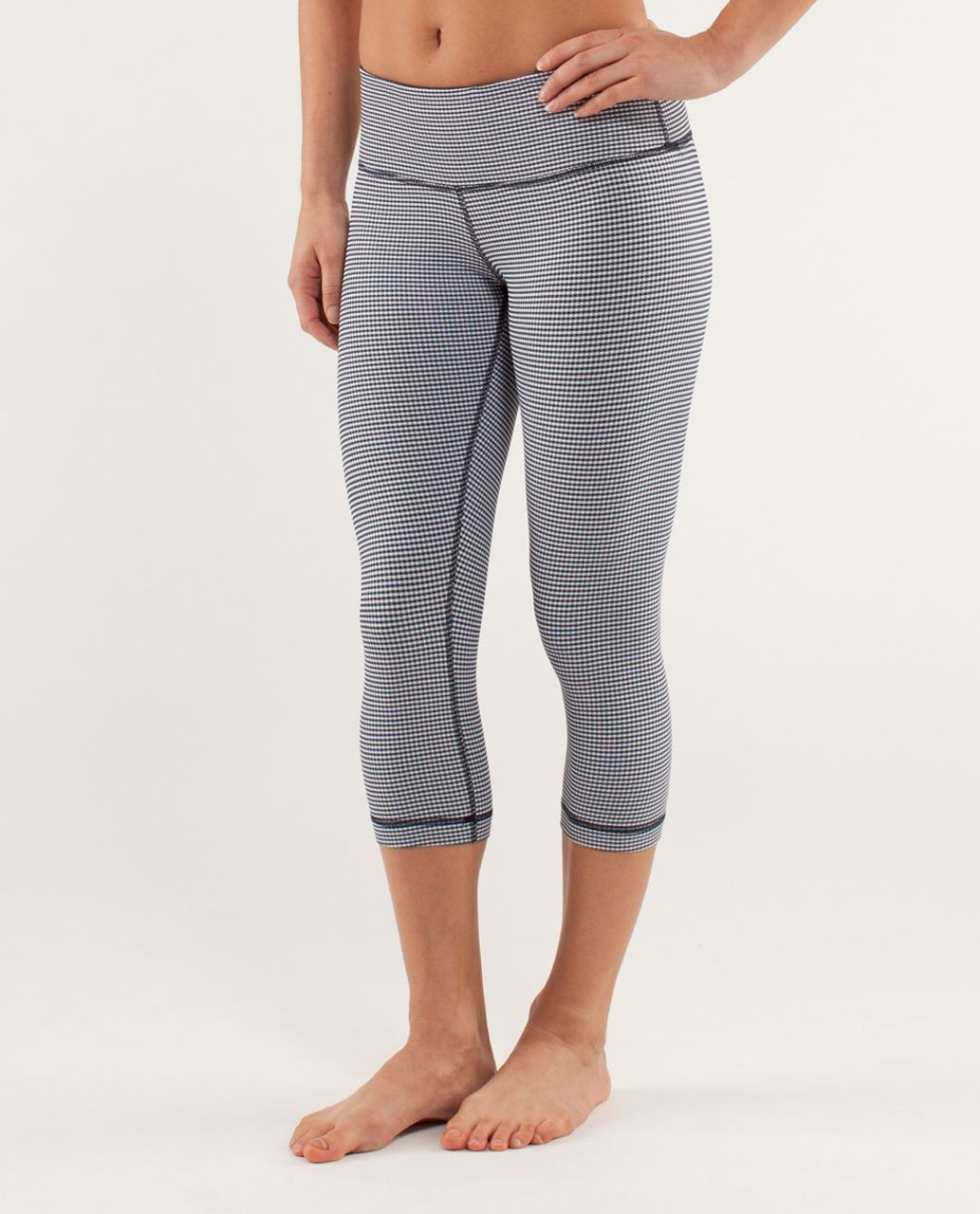 Lululemon Wunder Under Crop - Inkwell