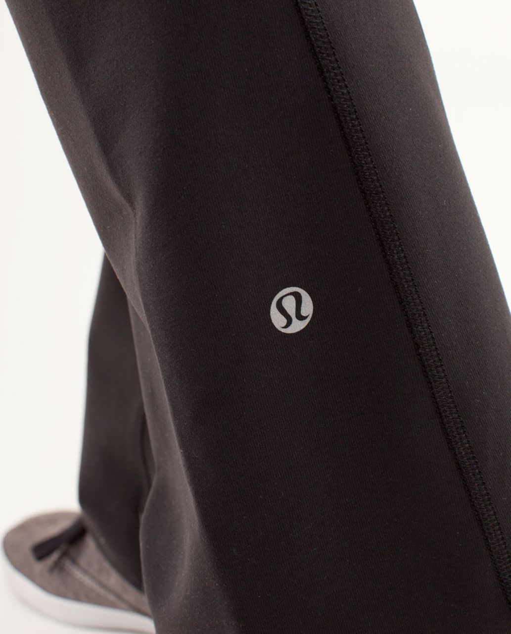 Lululemon Groove Pant *New (Regular) - Black / Quilt Spring13 6