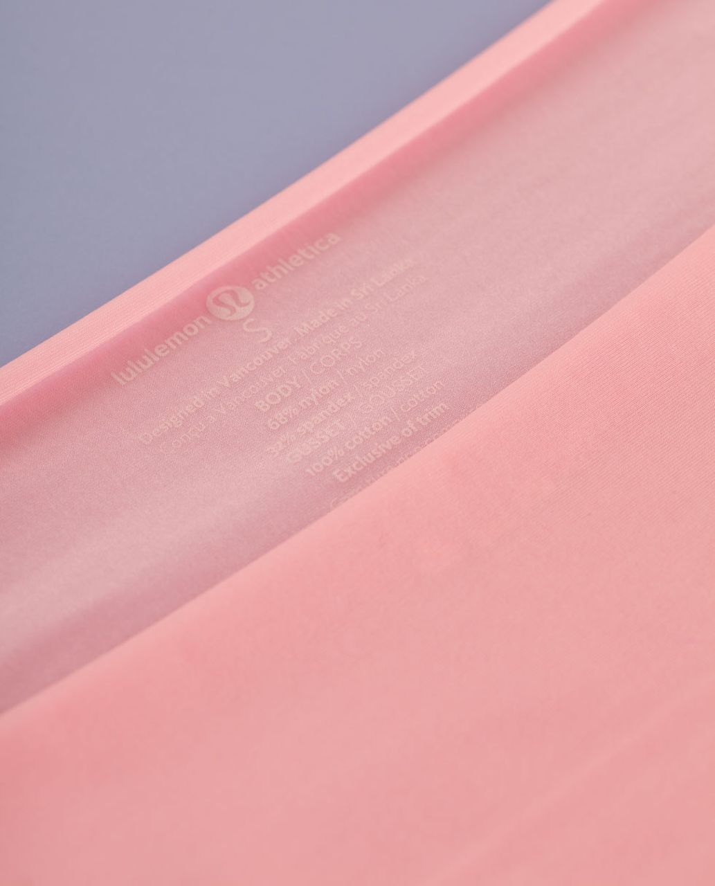 Lululemon Light As Air Thong - Bleached Coral