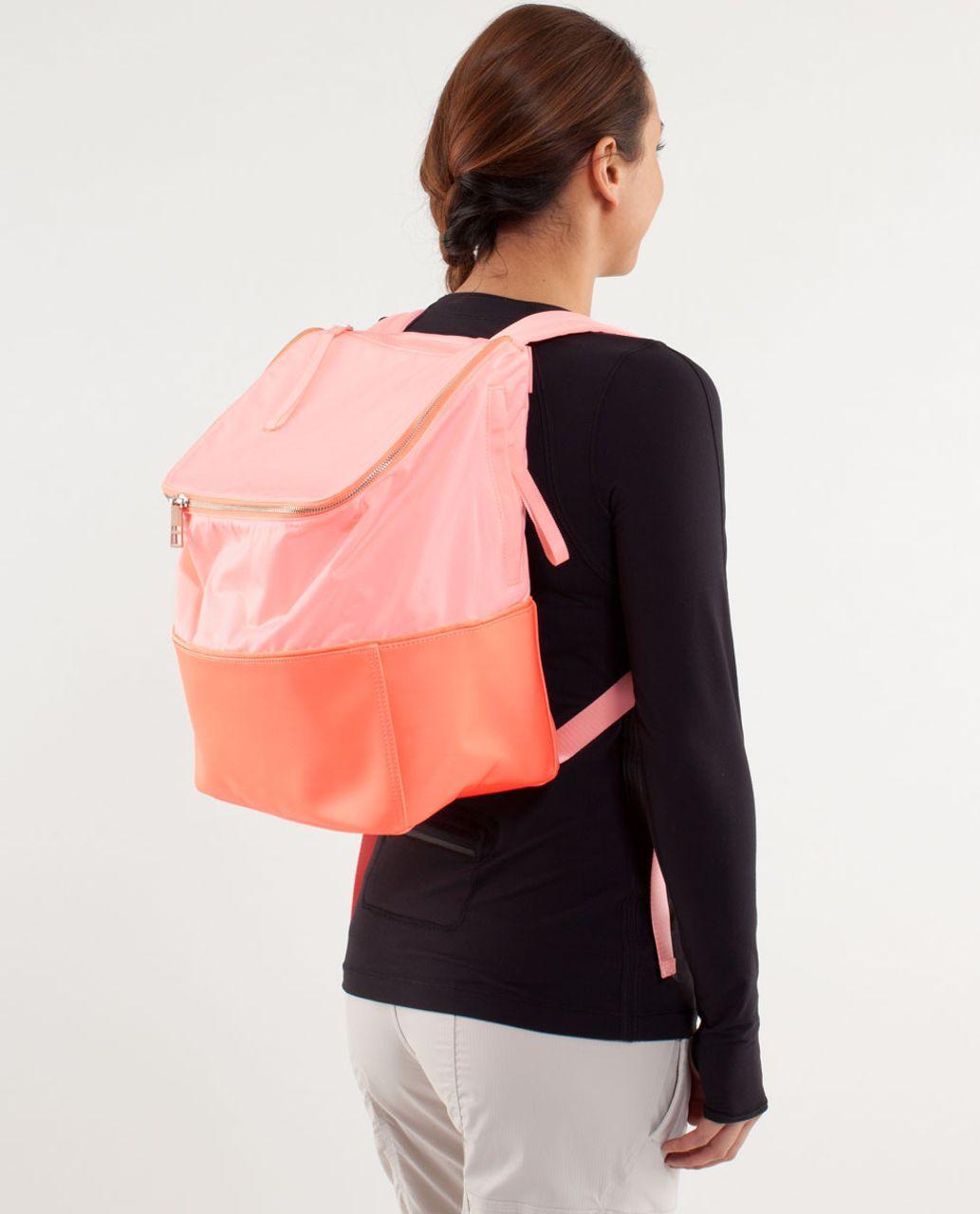 Lululemon Spring Fling Pack Bleached Coral Pop Orange