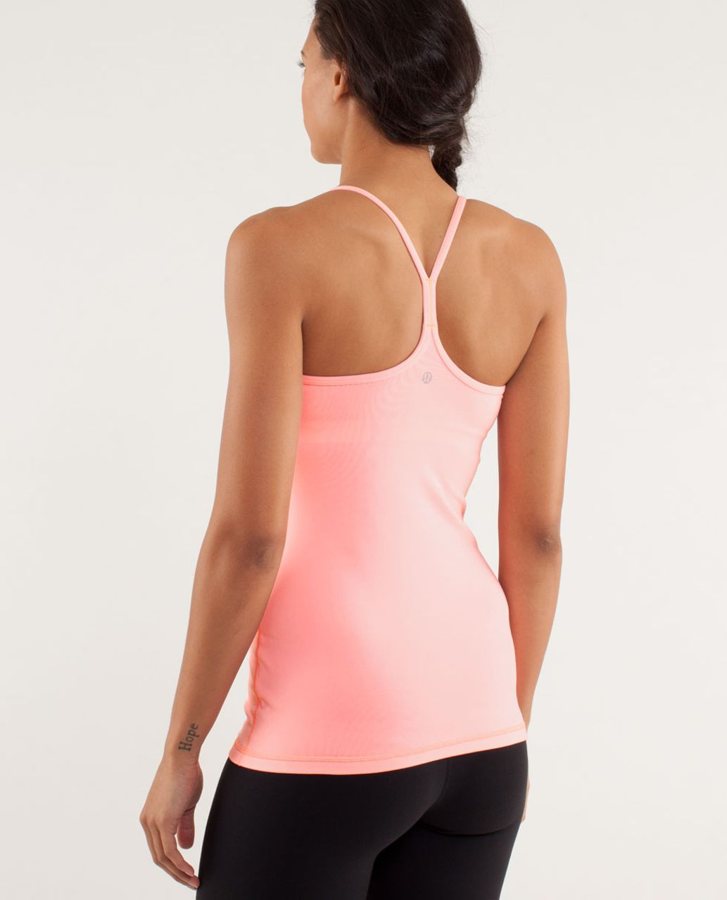 Lululemon Power Y Tank *Luon Light - Bleached Coral
