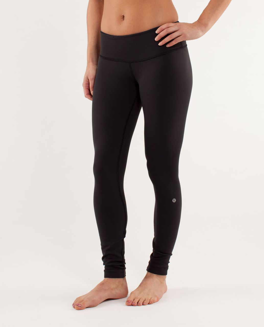Lululemon Wunder Under Pant *Reversible - Black / Inkwell