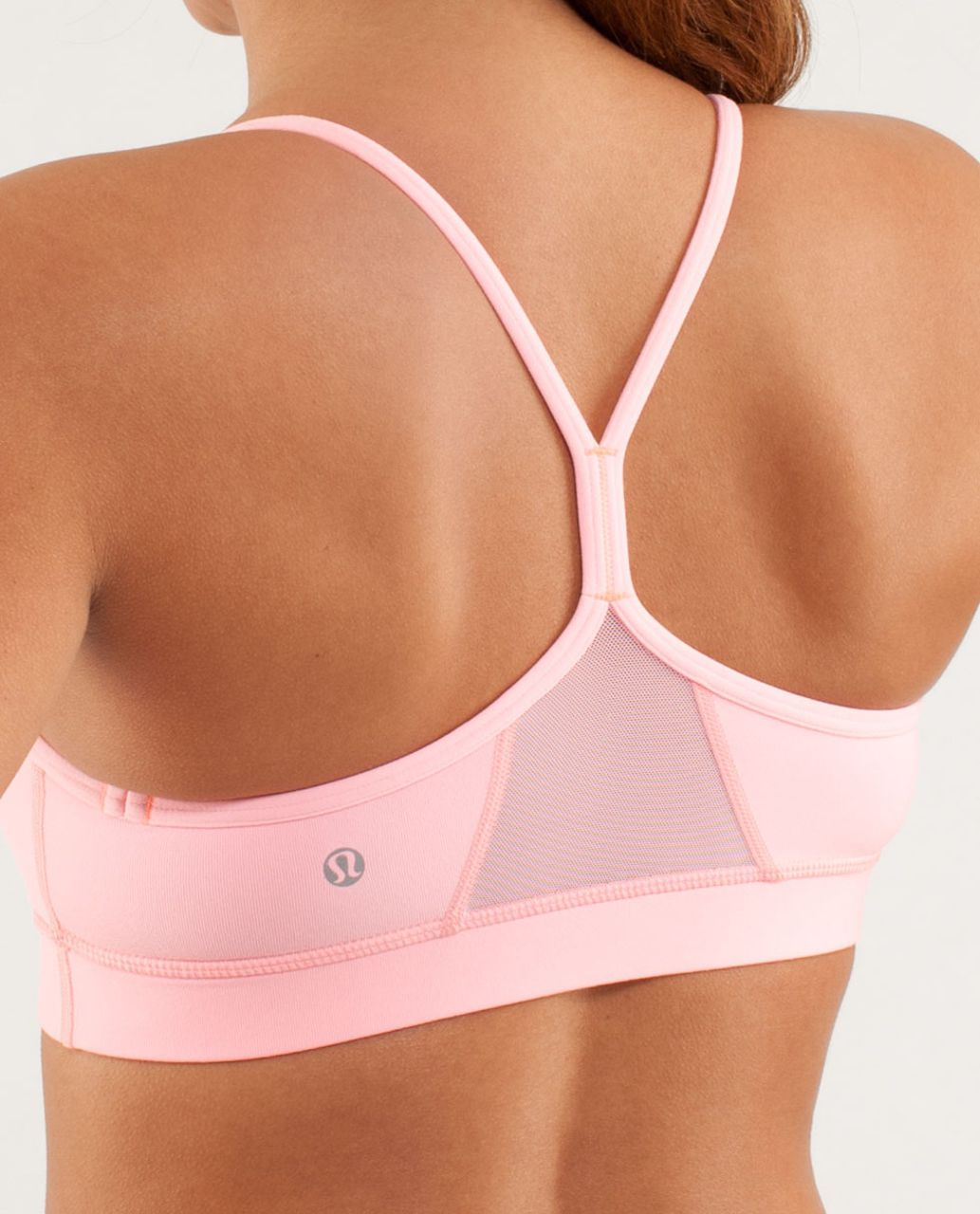 Lululemon Flow Y Bra IV (First Release) - Bleached Coral