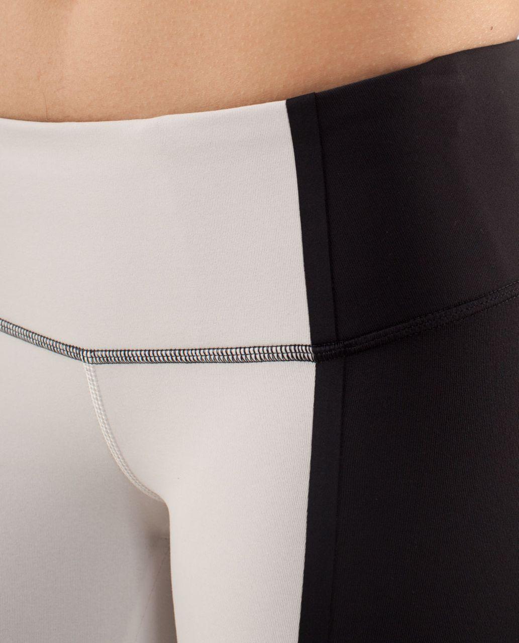 Lululemon Wunder Under Pant *Bonded Stripe - Dune / Black / Black