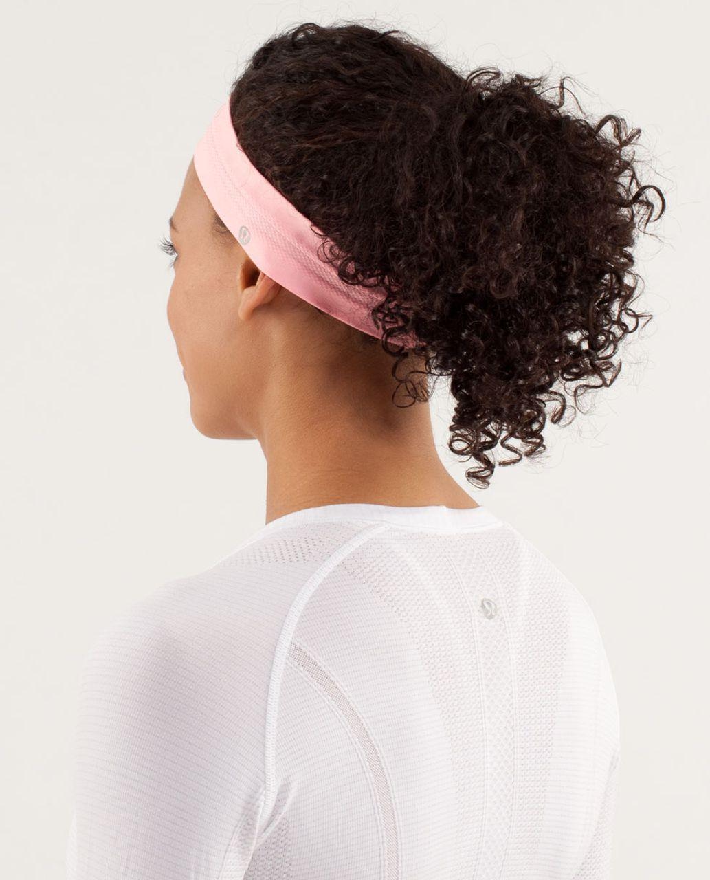 Lululemon Swiftly Headband - Bleached Coral