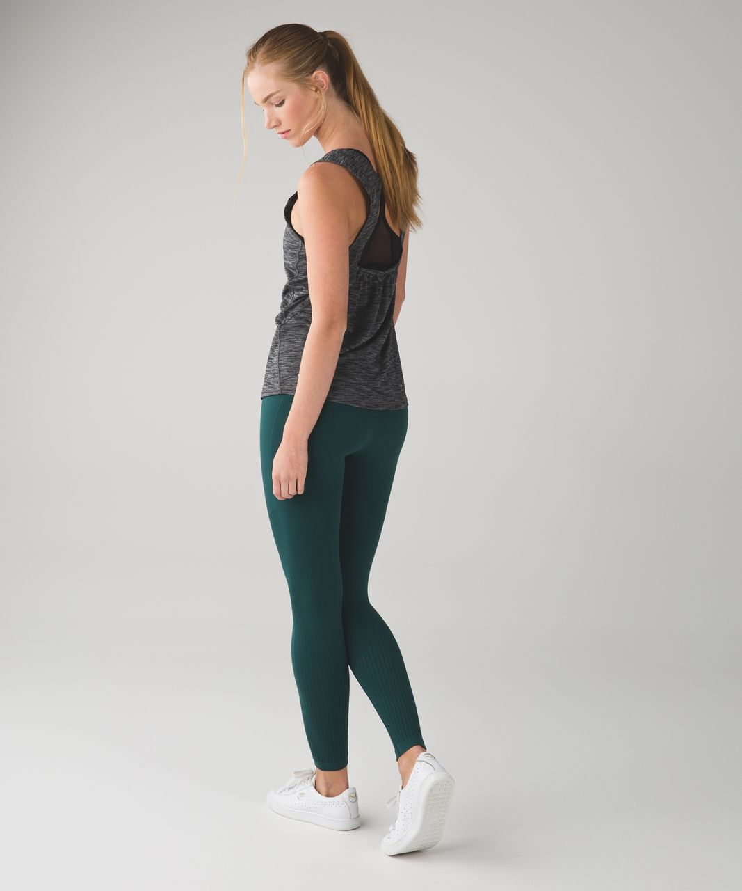 Lululemon Flow & Go Tight - Deep Green