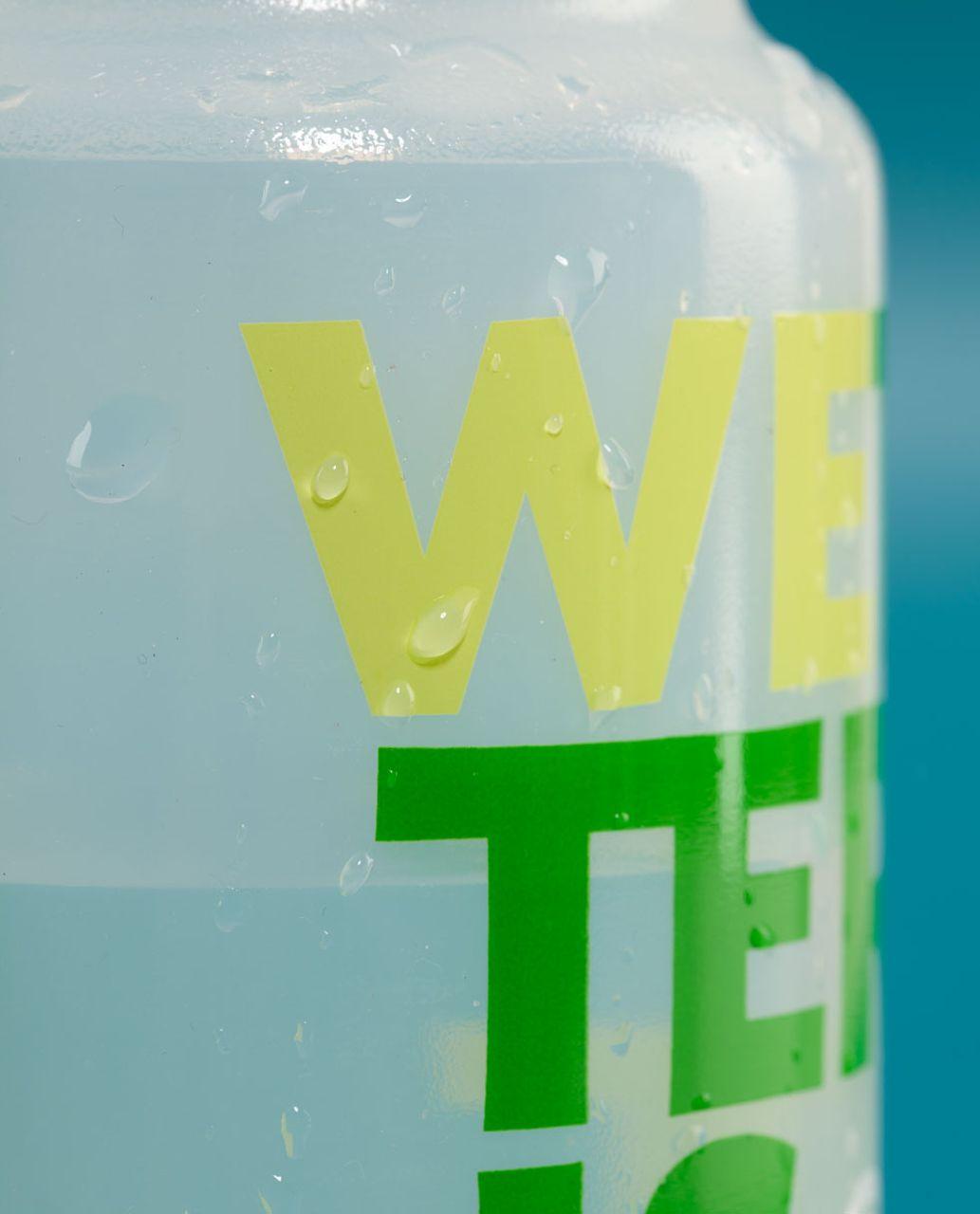 Lululemon Purist Cycling Water Bottle II - Wetter Is Better Faded Zap
