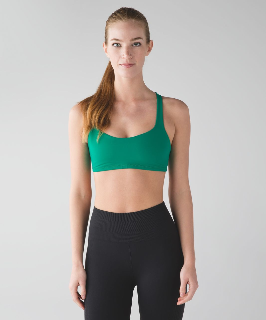 Lululemon Free To Be Bra (Trinity) - Jungle