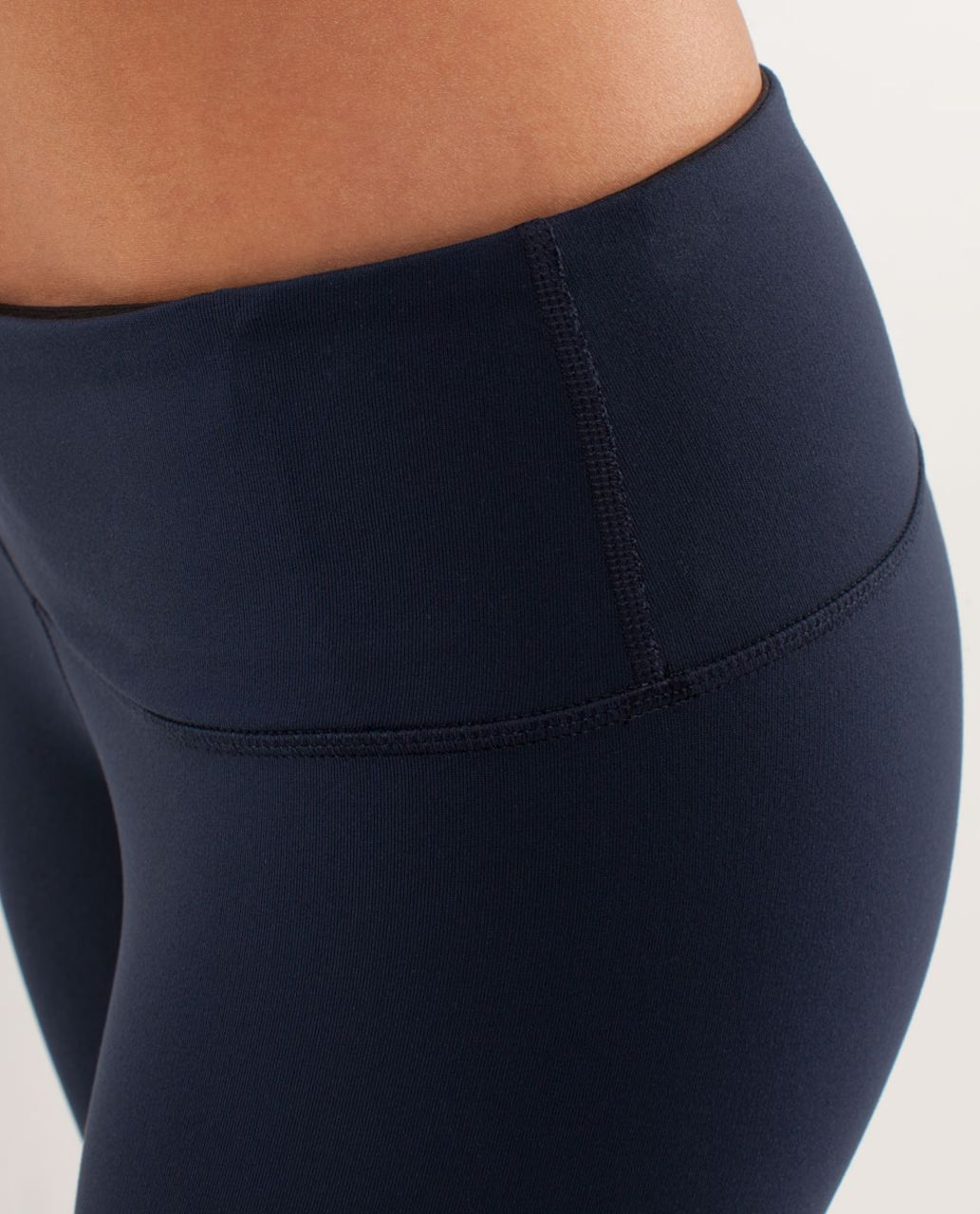 Lululemon Wunder Under Crop *Reversible - Black / Inkwell