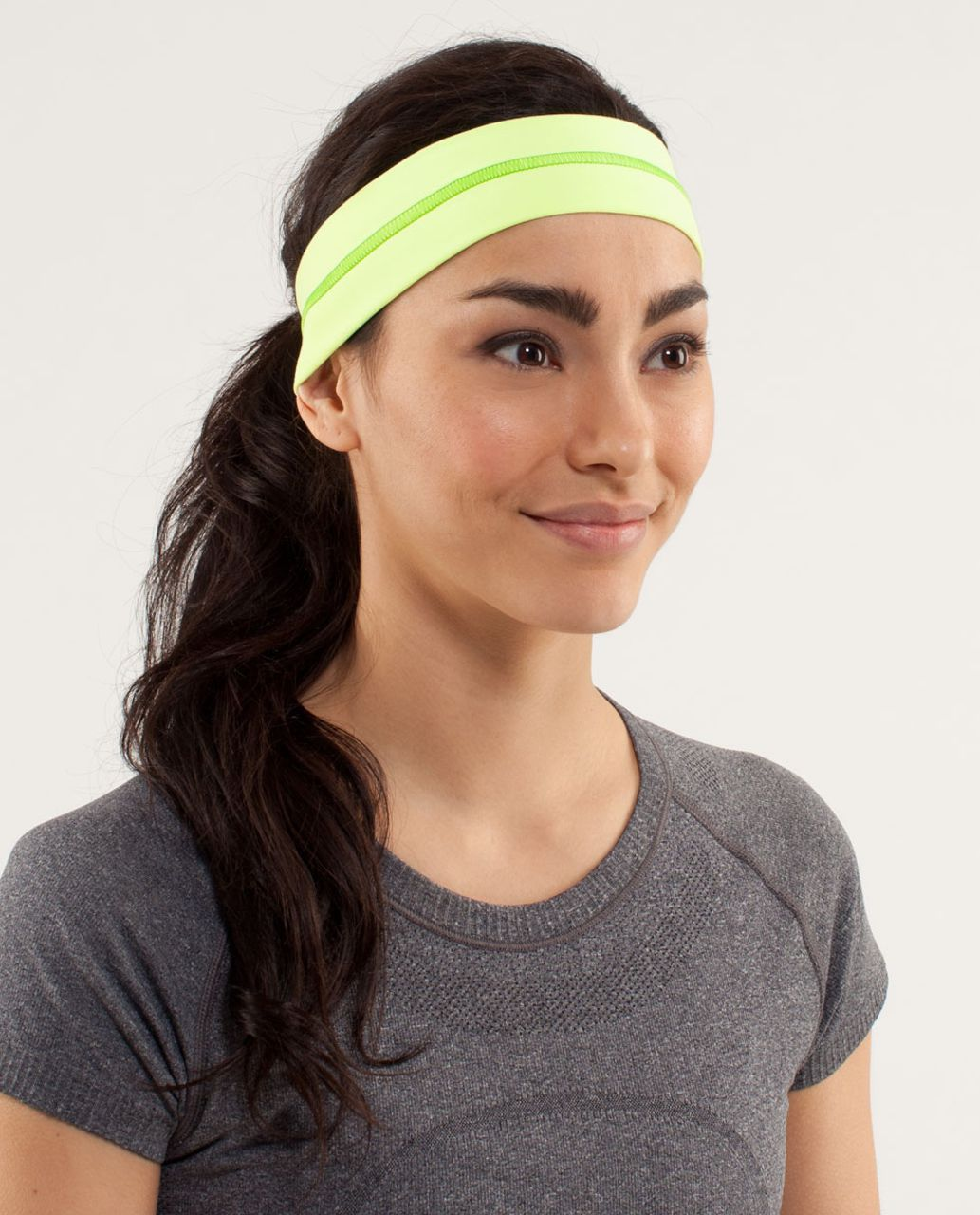 Lululemon Fly Away Tamer Headband - Faded Zap