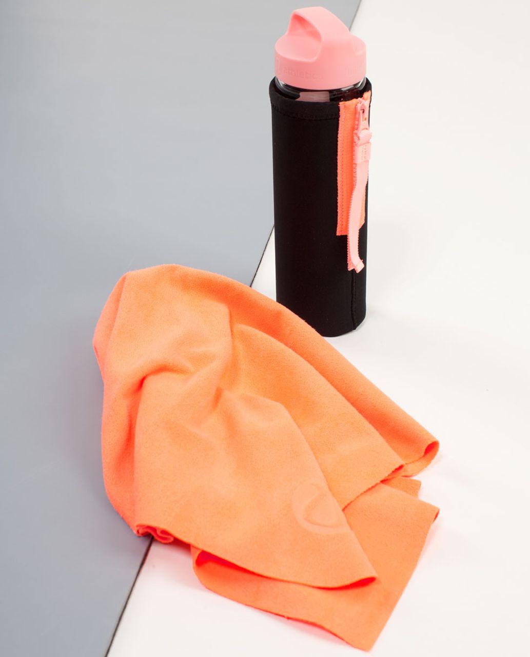 Lululemon The (Small) Towel - Pop Orange
