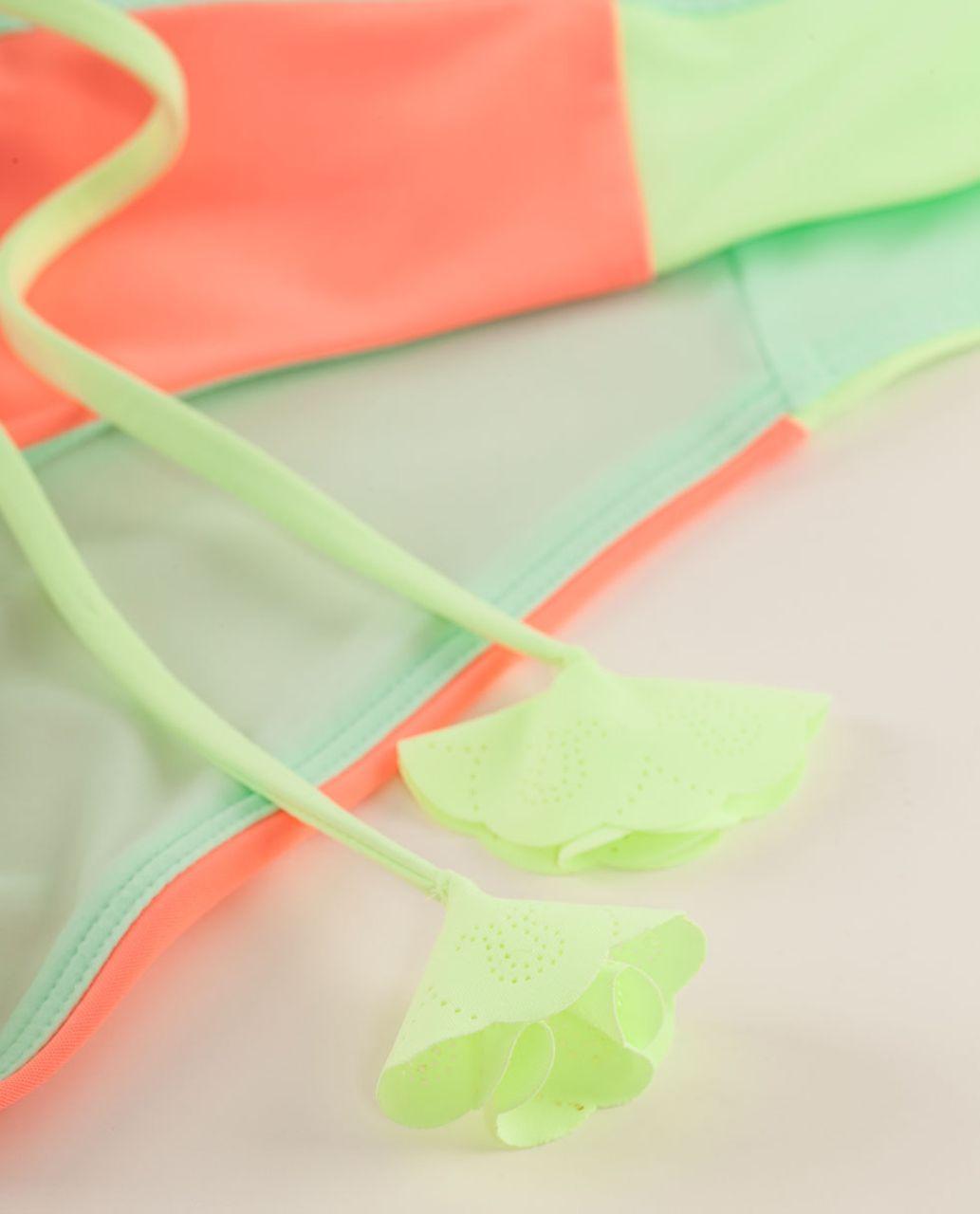 Lululemon Sandy Savasana Bottom - Fresh Teal / Pop Orange / Faded Zap