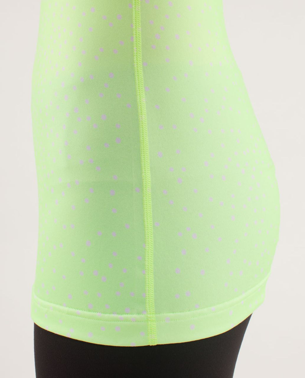 Lululemon Cool Racerback - Petit Dot Faded Zap