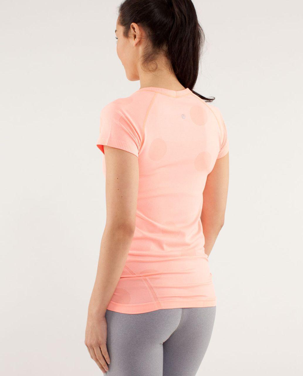 Lululemon Run:  Swiftly Tech Short Sleeve - Pop Orange