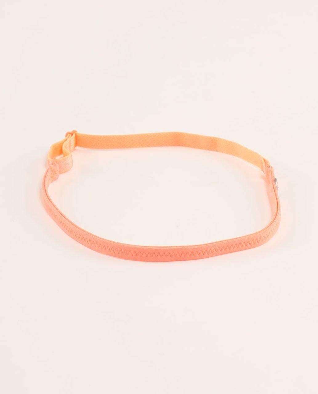 Lululemon Strappy Headband - Pop Orange